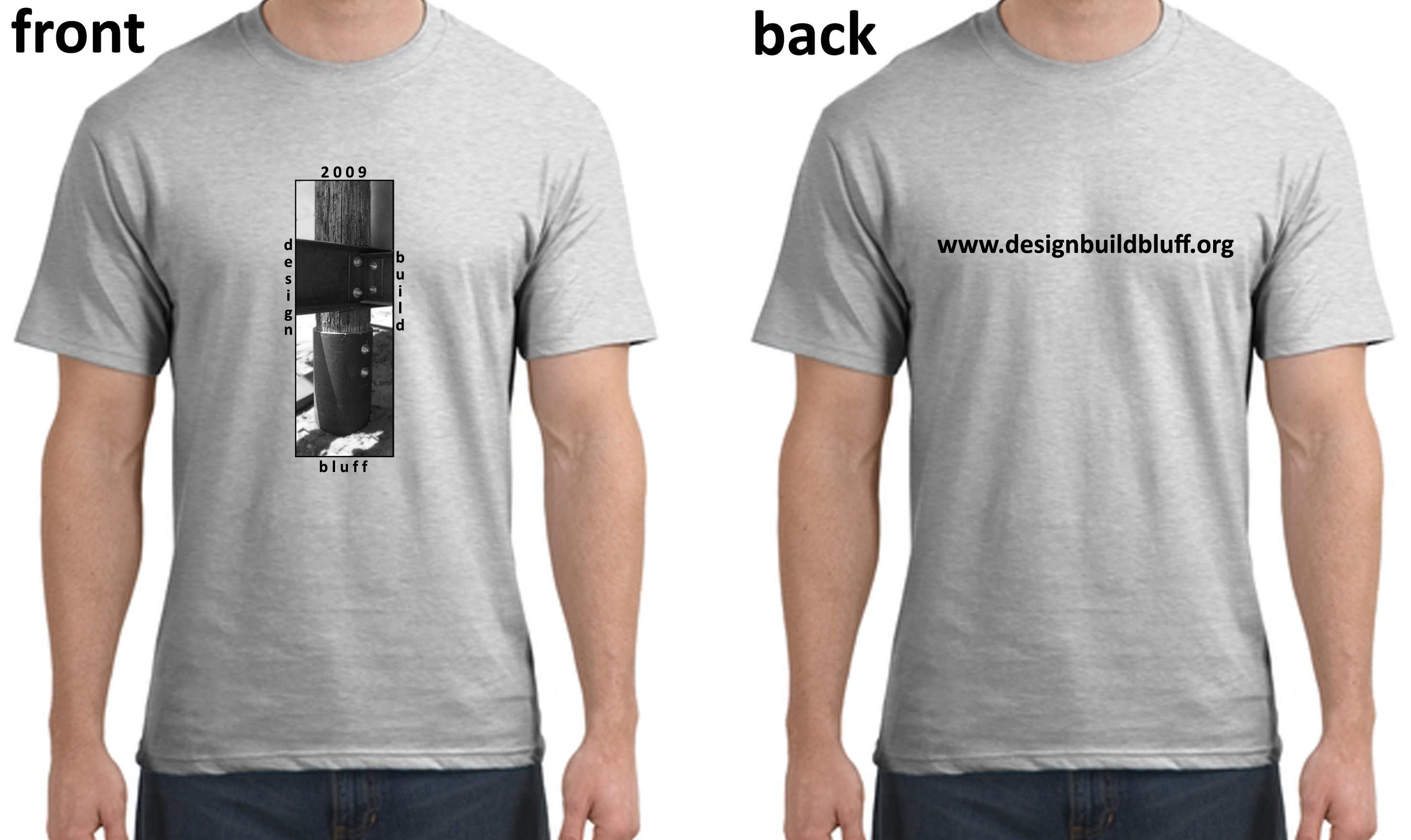 The first review of the t shirt design proposal for 2009 for Architecture student t shirts