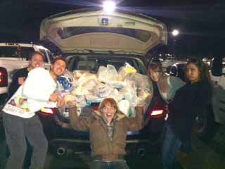 1 car,