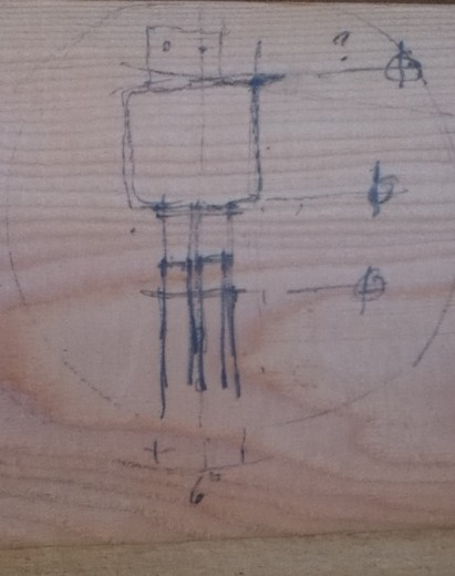 flitch column detail drawing