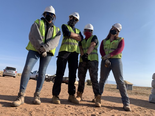 Women in Construction- ready to build your house